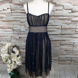 Odille By Anthropologie Dress Sz 4 (K16)